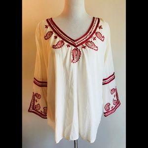 lucky brand tunic• size xl